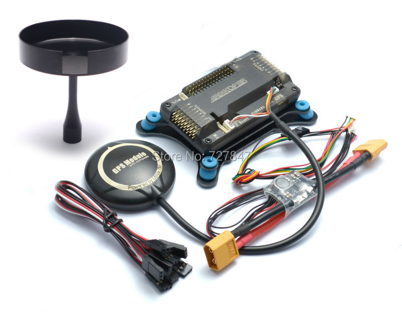 APM 2.8 APM2.8 Flight Controller Board Shock Absorber NEO-7M 7M GPS w/ Stand Holder Power Module for RC Quadcopter Multicopter f18471 m8n gps compass module for naza m v2 lite flight controller board