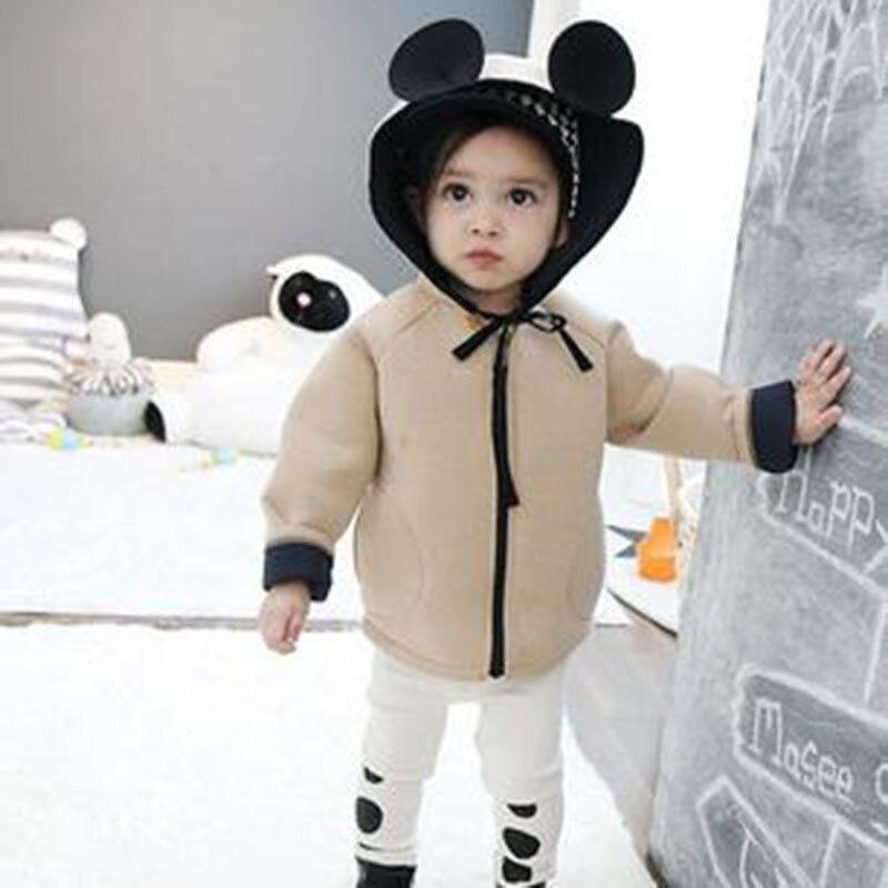 Chifuna Kids Coats Jackets Outerwear Hooded Girls Baby-Boys Children New-Fashion Cute