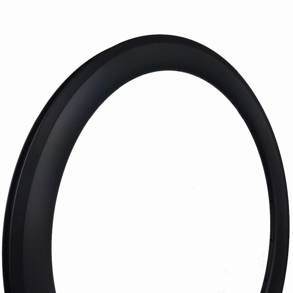 rodas de aro de carbono tubular para