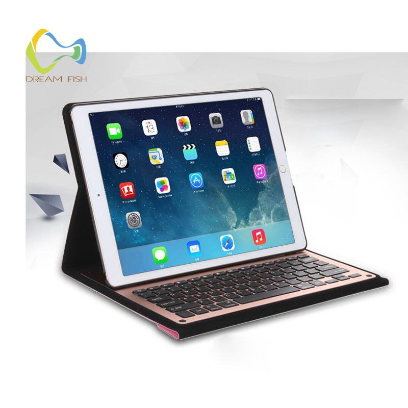 For Ipad 2018 Case Aluminum Alloy Split Wireless Bluetooth Keyboard Magnetic Cover Gadget for Ipad 6th Generation A1893 A1954