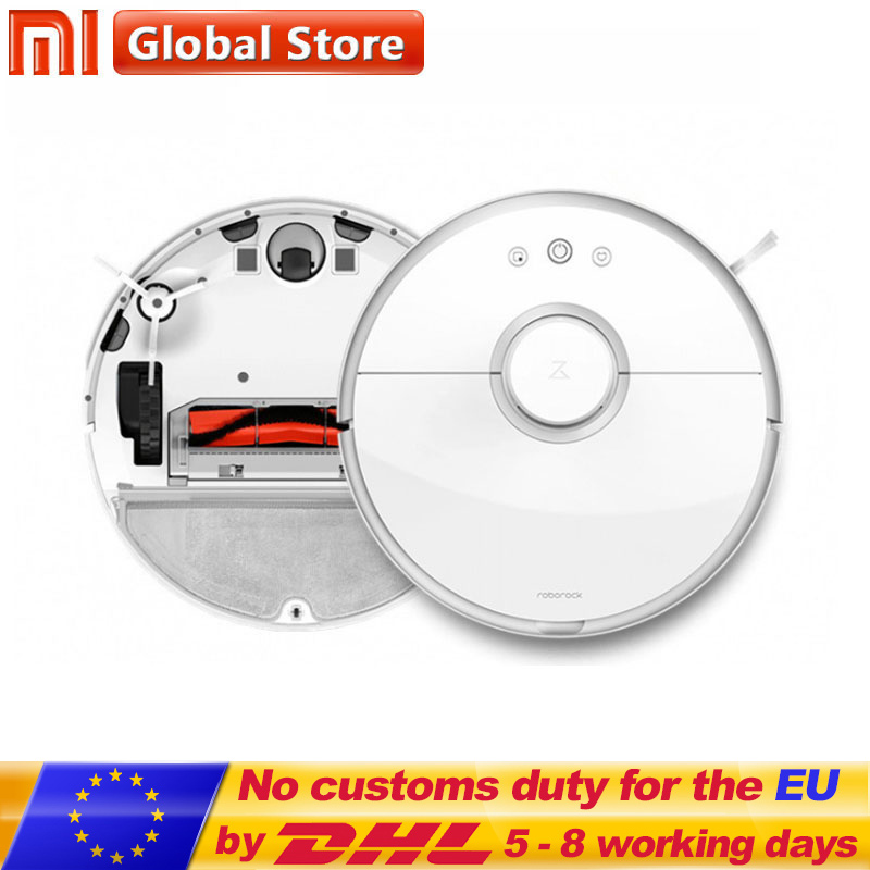 New Original XIAOMI Roborock s50 Robot Vacuum Cleaner 2 Smart Cleaning for Home Office Automatic Sweep Wet Mopping App Control цена и фото