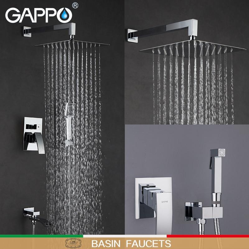 GAPPO Basin Faucets bidet faucets bathroom tap bathtub mixer b bidet toilet wall mount muslim shower смеситель gappo g1041