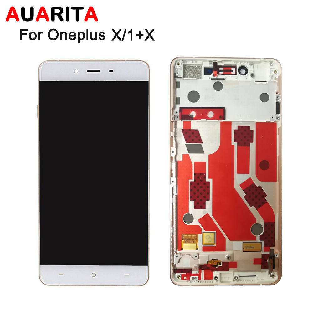 AAA quality LCD For OnePlus X LCD Display Touch panel Screen Digitizer with frame Assembly for oneplus X for one plus X