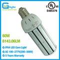 Medium E26 Base 60W LED Dusk to Dawn Security Light Retrofit 175W Mercury Vapor 120v 277v