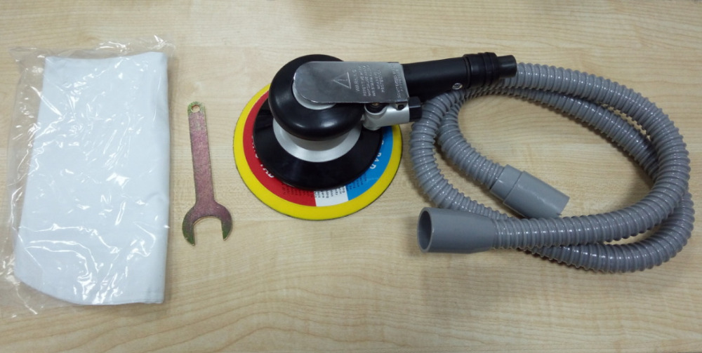 6 colių oro šlifuoklis su vakuuminiu 150 mm pneumatiniu šlifuokliu - Elektriniai įrankiai - Nuotrauka 5