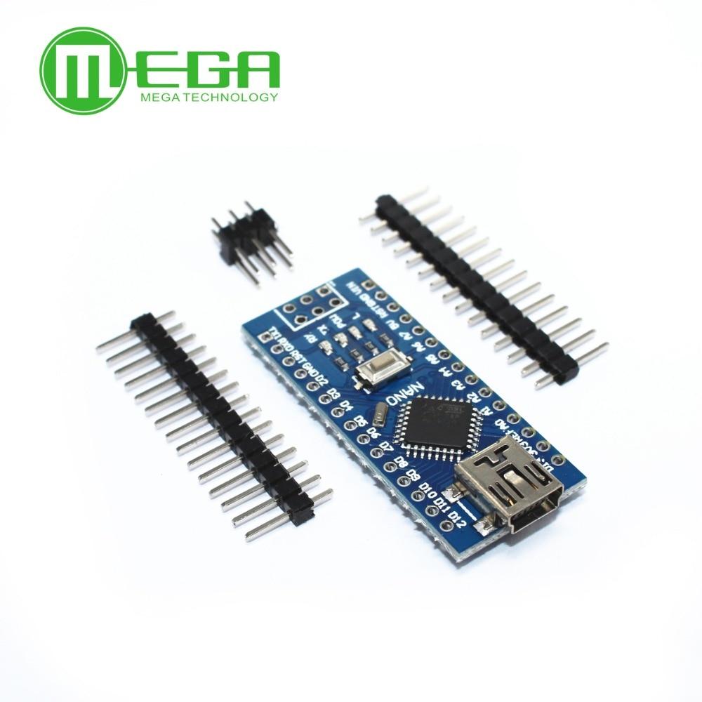 100PCS Nano 3.0 controller compatible with nano CH340 USB driver NO CABLE nano v3.0Integrated Circuits   -