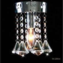 Бесплатная доставка современный дизайн хрустальные люстры маленькие 120 мм 110-240 В
