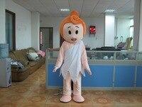 Vente chaude 2014 de bande dessinée Adulte belle rose bébé poupée de mascotte costume fancy dress costumes parti costumes Dress