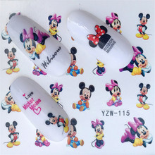 Water Foils Nail Art Sticker Fashion Nails Cartoon Harajuku Sailor moon Decals Nail Decorations(China)