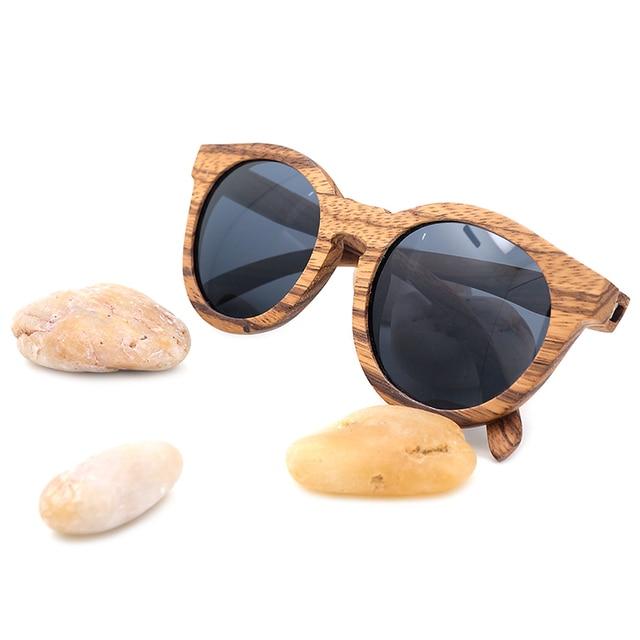 Gafas de sol madera vintage 3