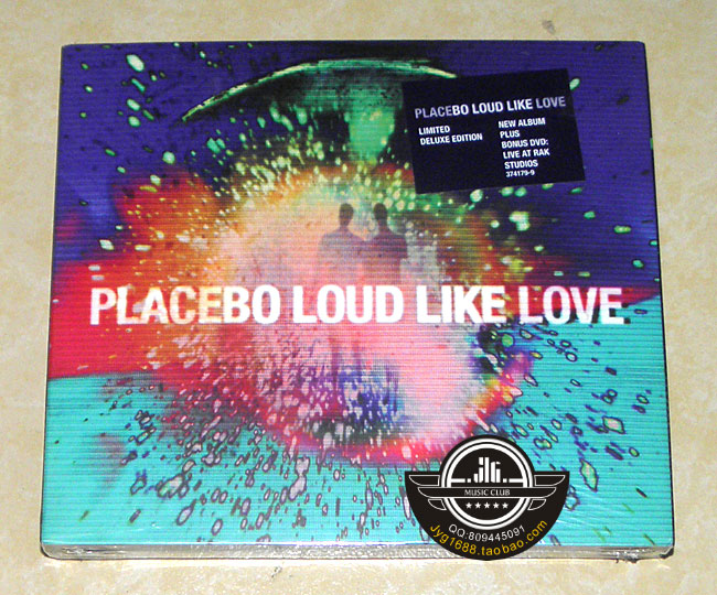 Free delivery; placebo band Placebo Loud Like Love CD European version; sealed placebo placebo the document cd dvd