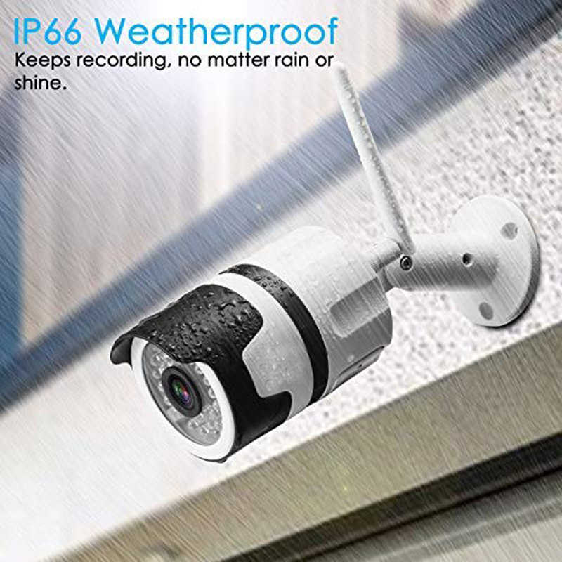 Wdskivi Мини HD 1080 P Водонепроницаемый Открытый IP Камера P2P видеокамера с Wi-Fi Пуля CCTV Камеры Скрытого видеонаблюдения металлический корпус Onvif