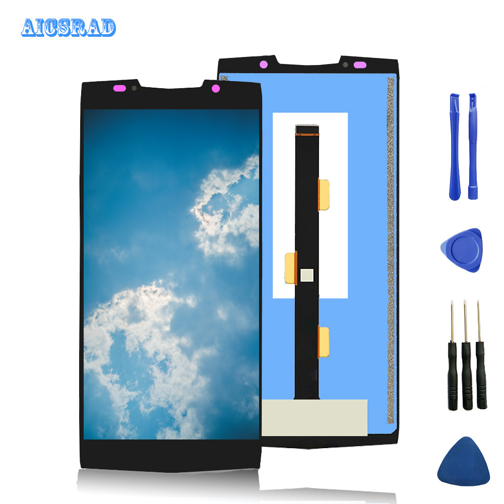For doogee bl9000 LCD Display and Touch Screen Assembly Repair Parts With Tools bl 9000