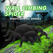 GizmoVine RC Spider Wall Climbing Infrared Tarantula Toy Simulation Furry Electronic oyuncak Toys For Children