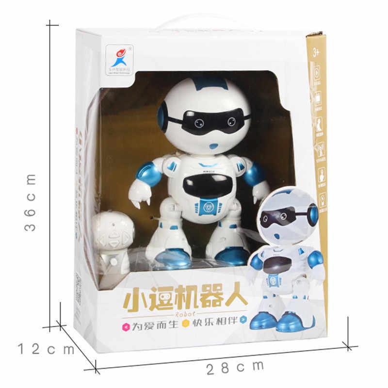 Nova Chegada LeZhou Interação de Voz Programável Controle de Toque Inteligente Cantar Dança RC Robô de Brinquedo de Presente Para As Crianças