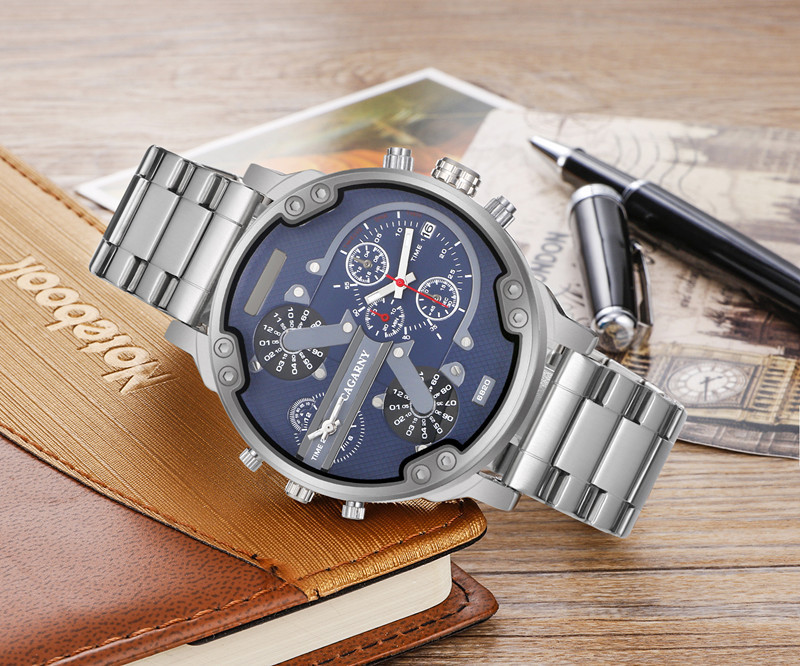 dual times military watch men  (7)