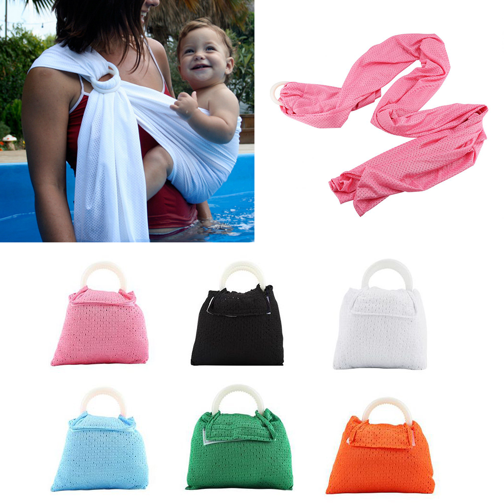 Backpacks & Carriers Mother & Kids 100% Quality Baby Carrier Sling For Newborns Baby Carrier 2018 Breathable Wrap Infant Kid Baby Carrier Ring Swing Slings 6 Colors Baby Sling