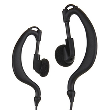 Marsnaska Brand New Black High Quality Earhanger Ear-Hook Headset Earpiece Earphone for Kenwood Walkie Talkie Radio(China)