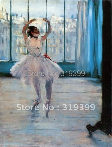 Oil Painting Reproduction,dancer posing ,Free Shipping,100% handmade,ED020Oil Painting Reproduction,dancer posing ,Free Shipping,100% handmade,ED020