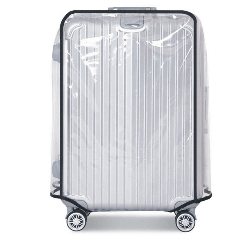PVC Suitcase Bag Protective Covers Transparent Rain Dust Luggage Travel Accessories Wear-Resistant Bag Protect Parts Sleeve Case