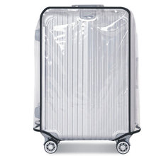 PVC Suitcase Bag Protective Covers Transparent Rain Dust luggage Travel Accessories Wear-Resistant Bag Protect Parts Sleeve Case(China)