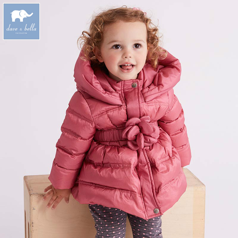 9cd3d69cf DB5546 dave bella winter infant baby girls down jacket children ...