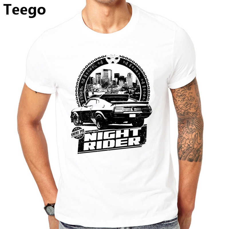 10e81cdbe Mad Max Night Rider Brand New Men tshirt Summer shirts Sleeve Casual Tops  Fashion Design Printed