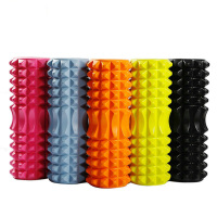33x14CM EVA Yoga Foam Roller Massage Roller Stick Fitness Back Pilates Bricks Gym Exercises Relaxing Muscles