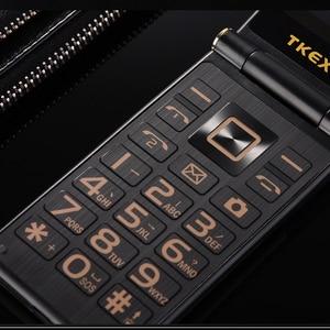"""Image 4 - Uomo di Vibrazione di Tocco Grande Schermo 3.0 """"Display di Affari Telefono Rapido Tasto SOS Corpo In Metallo di Alto Livello Non smart Mobile telefono cellulare M2 P302"""