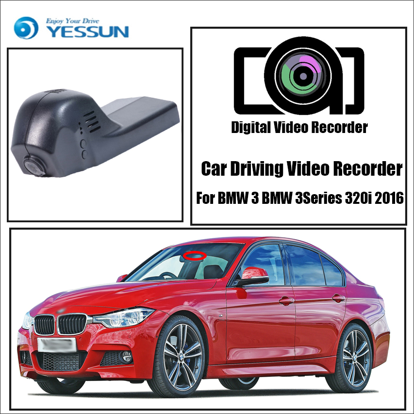yessun for bmw 3 series 320i 2016 car dvr mini wifi camera. Black Bedroom Furniture Sets. Home Design Ideas