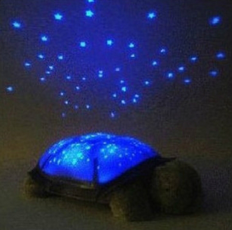 Colorfui Turtle Night Light Led Start For Children Baby