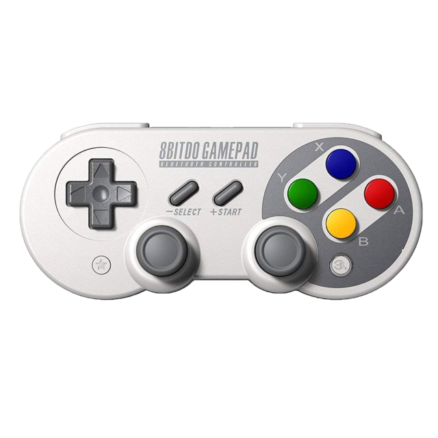 8bitdo SF30 Pro Sans Fil Bluetooth Manette de jeu avec Joystick pour Windows Android macOS Nintendo Switch Vapeur