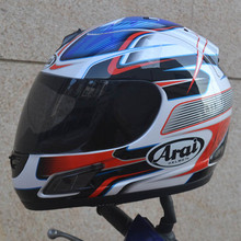Arai blue and red special full face Arai helmet motorcycle helmet for free shipping
