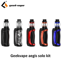 Original Geekvape Aegis Solo Kit 100W Vape Electronic Cigarette Mod with Cerberus Tank 5.5ml Vaporizer Kits vs aegis mini