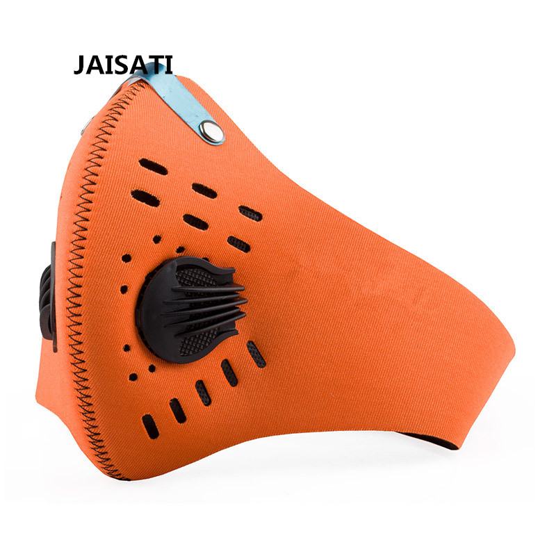 JAISATI Riding mask for wind cold Outdoor sports riding activated carbon dust mask