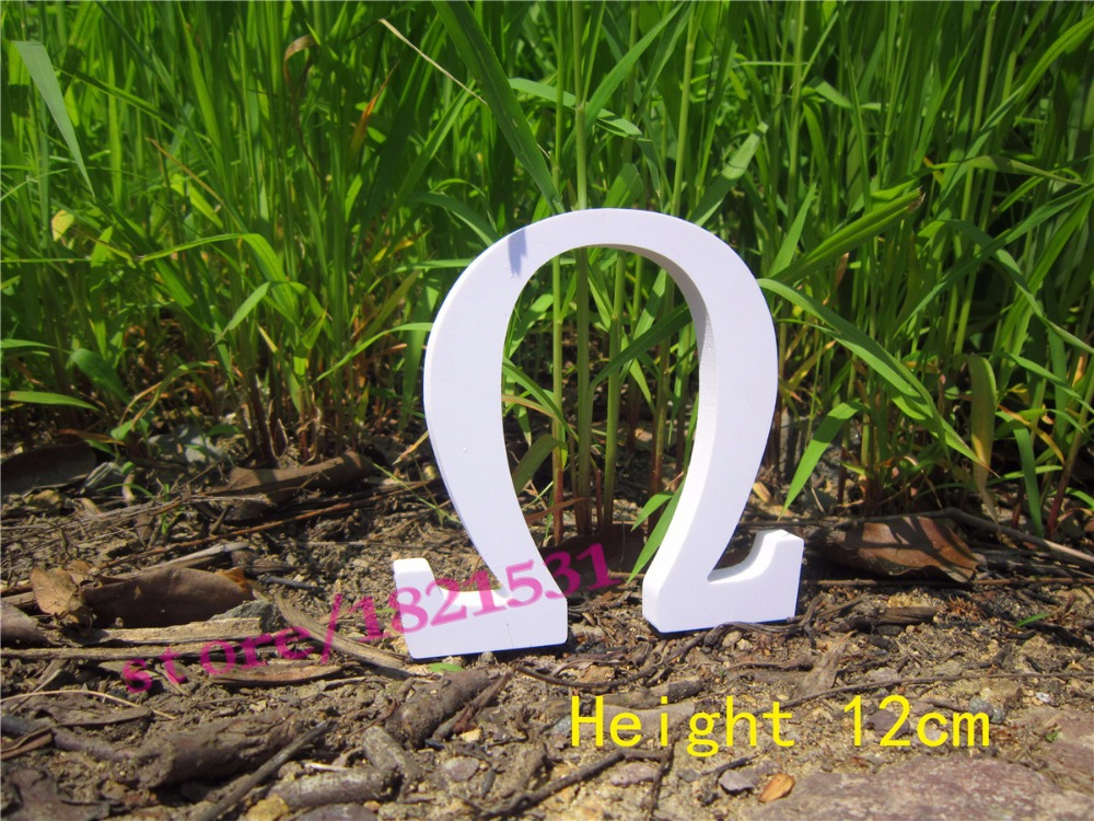 greece letter alphabet artificial wooden wood letter word free standing wedding party brithday height 12cm wood