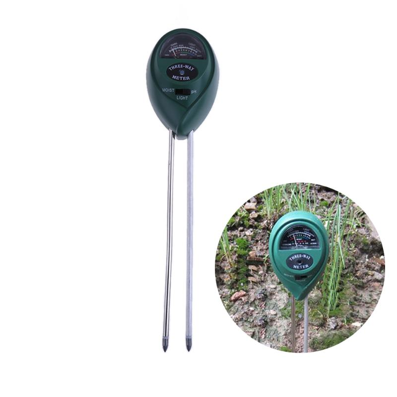Ph Meters Measurement & Analysis Instruments 3 In 1 Soil Tester Meter Tool Moisture Light Ph Sensor Tools For Garden Lawn Plant Pot Mdj998 For Fast Shipping