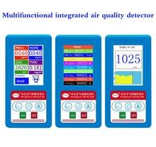 купить 13 in 1 Gas Analyzer Formaldehyde CO2 Dioxide PM1.0 PM2.5 PM10 HCHO TVOC Detector Particles Monitor Air Quality Analyzer онлайн