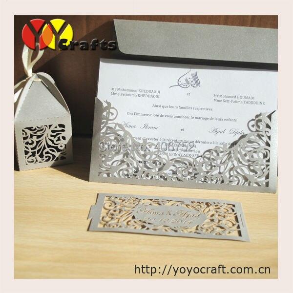 Floral Wedding Card Manufacturer From Hosur: Aliexpress.com : Buy Pocket Fold Wedding Invitations