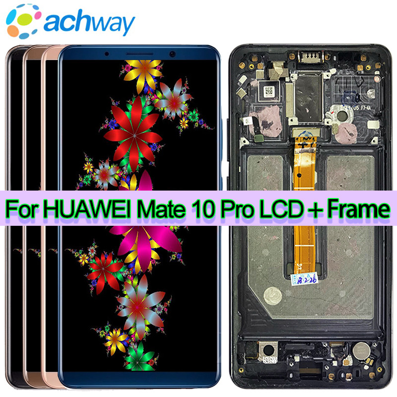 100% Tested LCD Huawei Mate 10 Lite LCD COMPAGNO 10 Display LCD Digitizer Touch Screen del Pannello di Vetro Huawei Mate 10 pro Schermo LCD