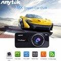 Hot! anytek at66a full hd 1080 p dvr câmera do carro gravador dvr preto caixa de Lente de 170 Graus Ceia Night Vision Cam Traço GPS Tracker