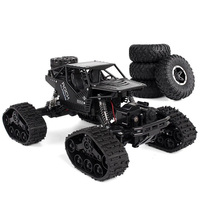 Electric Rc Car Rock Crawler Remote Control Toys Change Track Tire Radio Controlled Cars Gifts Toys For Boys Rc Crawler Wheel