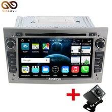 Android 7.1 2GB RAM 1024*600 2 Din Car DVD Player For Opel Astra Vectra Antara Zafira Corsa GPS Navigation Radio Audio Video