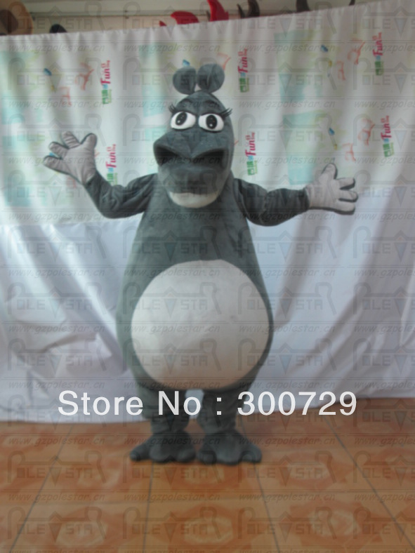 Madagascar hippo mascot costumes hippo onesies for adults