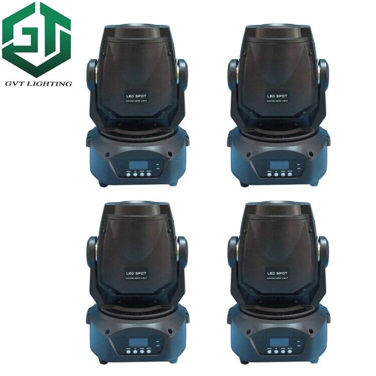 90 Вт Светодиодный прожектор с движущейся головкой, светильник DMX512, сценический светильник ing dj disco gobo, светильник с 3 гранями, светодиодный св