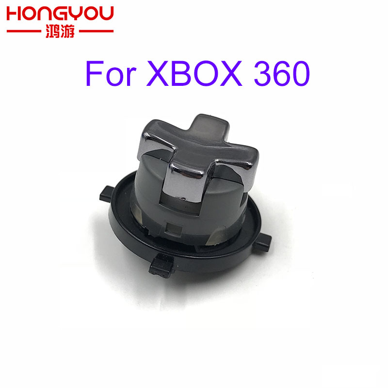 5Pcs Transforming DPAD for Microsoft Xbox 360 Slim Controller Rotating D pad Replacement Control Parts for Xbox360 Wireless ...