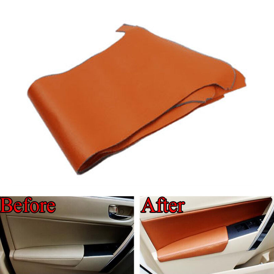 auto interior door panel armrest handle leather protector sticker for corolla car in styling. Black Bedroom Furniture Sets. Home Design Ideas
