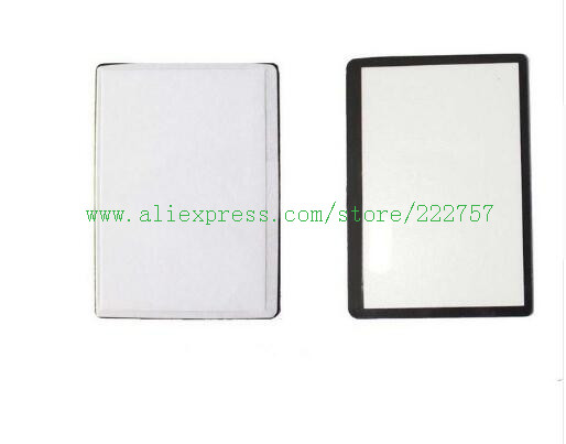 Outer LCD Screen Display Window Glass Replacement parts for Canon 550D Rebel T2i