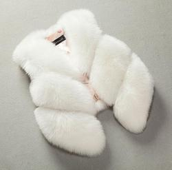 2019 New Arrival Kids Baby Girl Autumn winter jacket girls coat Waistcoat Thick Coat Warm fur waistcoat baby girl Clothes