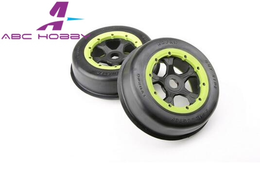 Hpi Racing/km Hpi 5b 5t 5sc Losi Tdbx Fs Racing Rovan 1/5 5t/5sc Front Sand Tyres Set Parts & Accessories